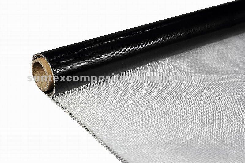 550degree Silicone Coated Fiberglass Fabric Heat Shield
