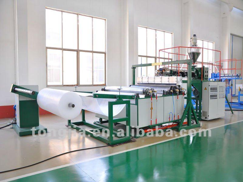 bubble wrap machine used