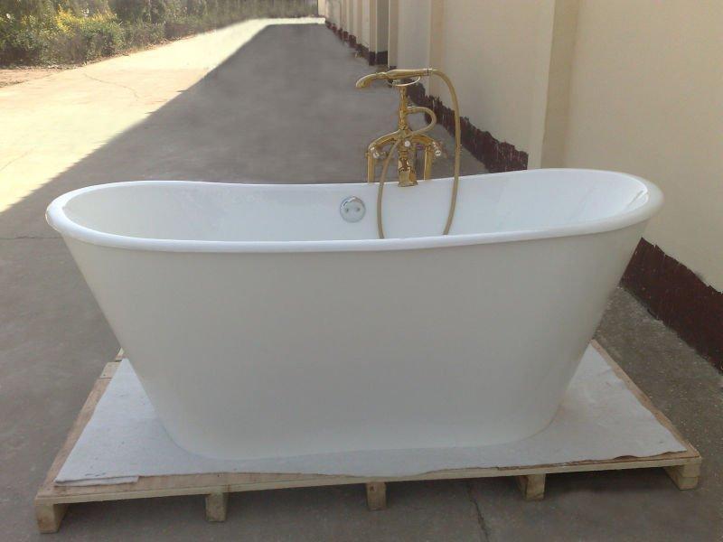 free standing bath tubs buy free standing cast iron bath. Black Bedroom Furniture Sets. Home Design Ideas