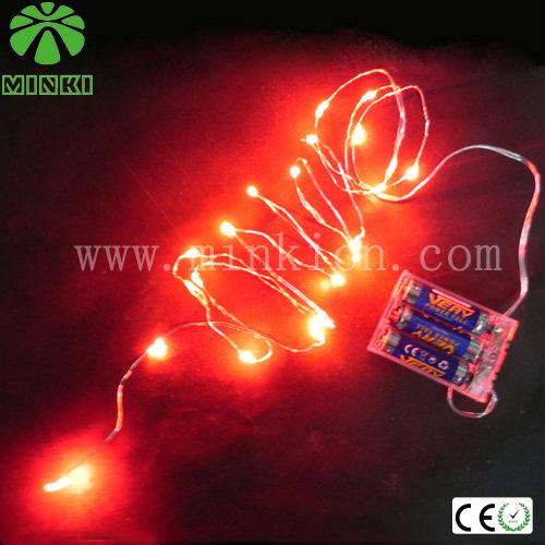 Copper Wire Mini Led Lights For Crafts,Decoration Craft Led String Lights Halloween Light - Buy ...