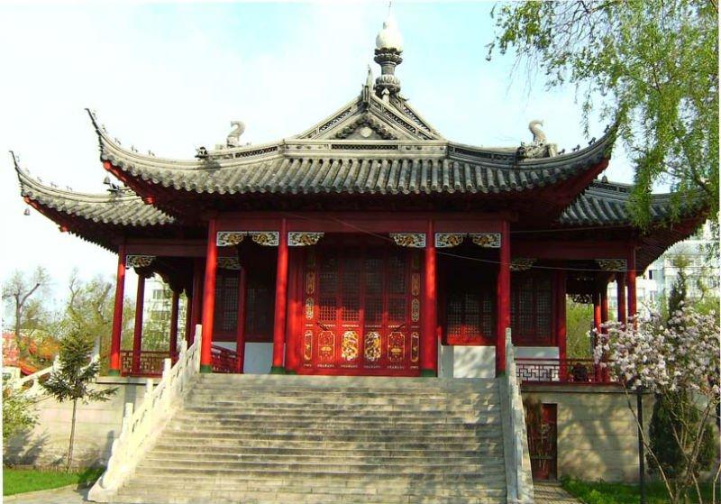 Roof tiles for japanese pagoda garden buy japanese for Garden pagodas designs