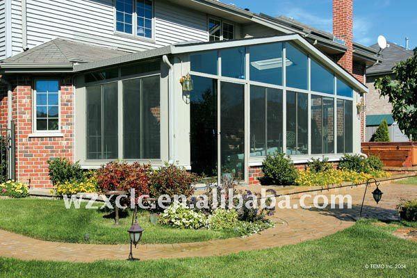 Aluminum Winter Garden Outdoor Glass Sun Room Buy Sun
