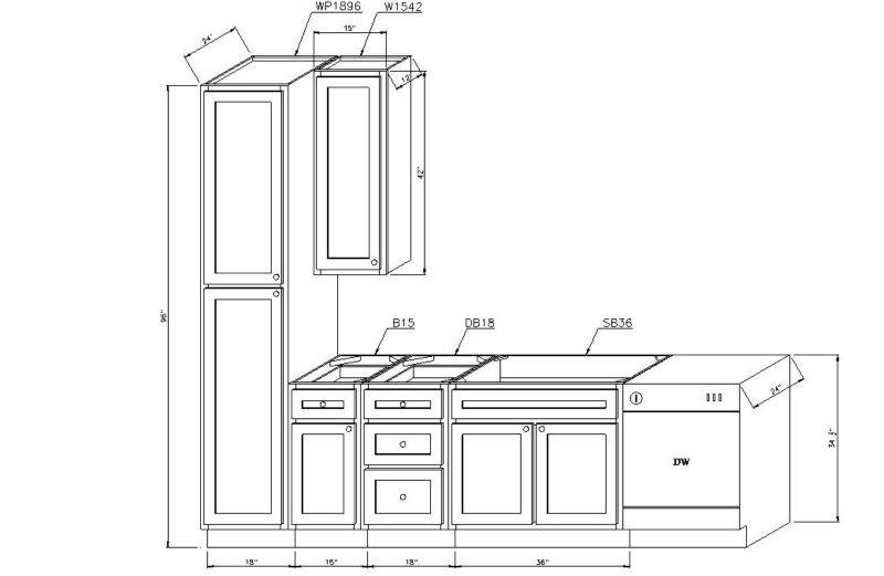 Kitchen Cabinets Sizes