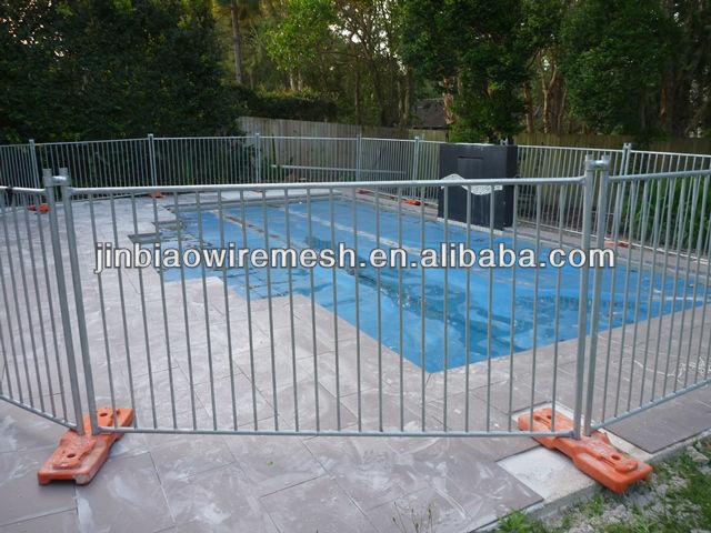 Australia temporary fence retractable pool portable
