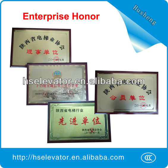 Elevator safety gear, gear motor for elevator