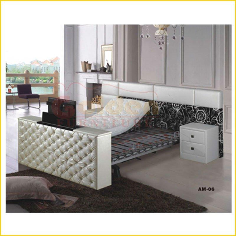 modern fashion adjustable modern tv bed am 06 buy. Black Bedroom Furniture Sets. Home Design Ideas