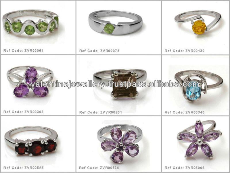 cheap gemstone ring mens gemstone ring design silver
