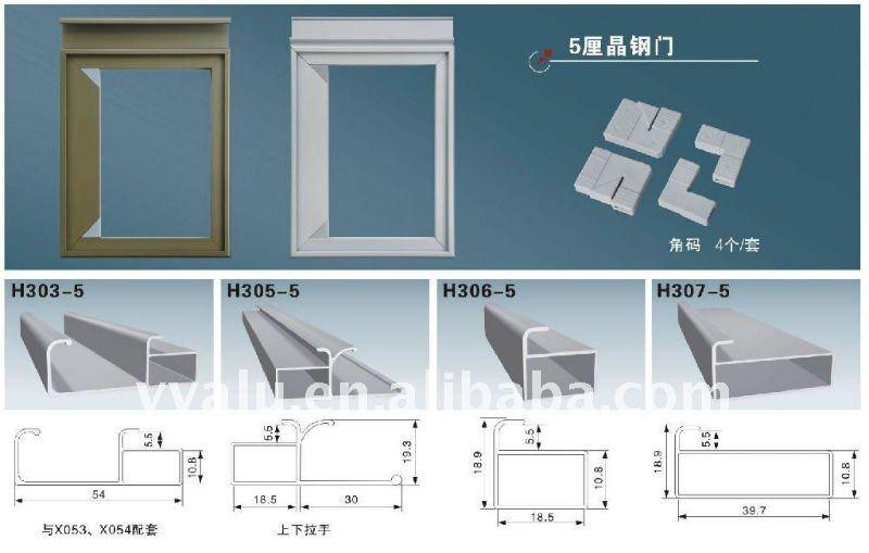 Perfiles De Aluminio Para Muebles De Cocina : Insert aluminium profile for mdf kitchen cabinet yy