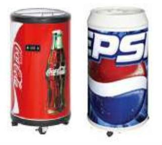 Round Barrel Beverage Cooler With Wheels Budweiser Cooler