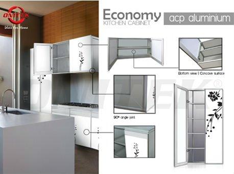 Onitek bi fold door bi fold door kitchen cabinet acp panel for Bi fold doors for kitchen cabinets