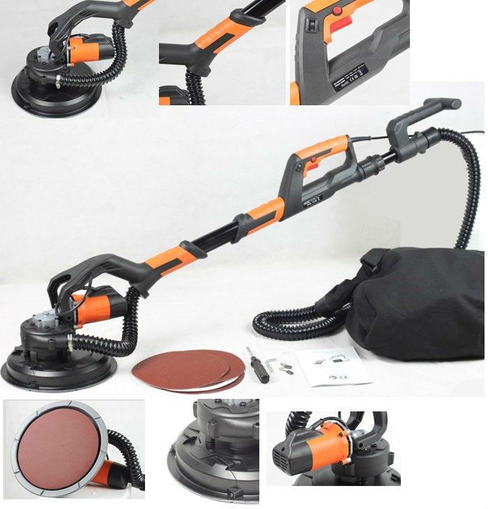 Drywall Edge Sander : Dp dustless drywall sander with automatic vacuum