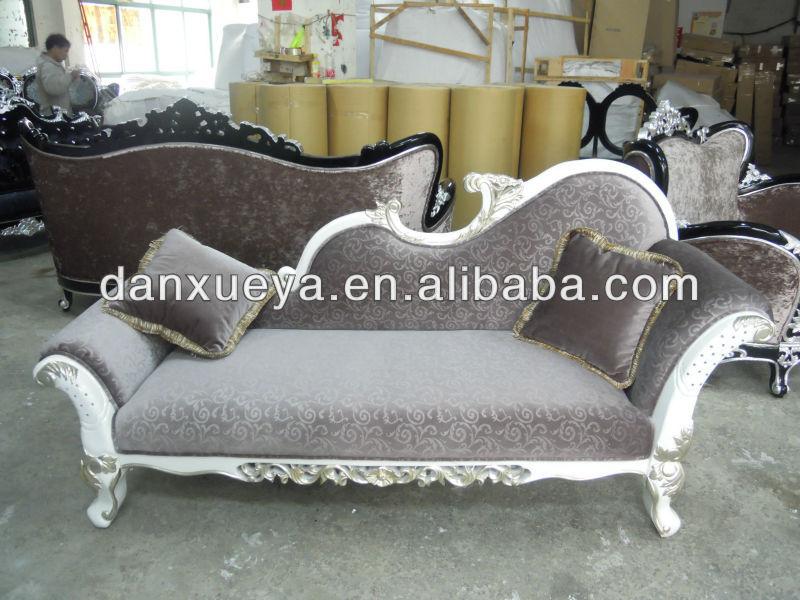 Antique furniture couch divan chesterfield chaise lounge for Vintage divan sofa