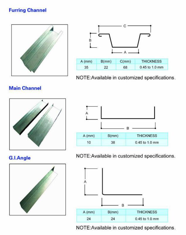 G I Wall Angle Buy Ceiling Wall Angle Metal Stud Wall
