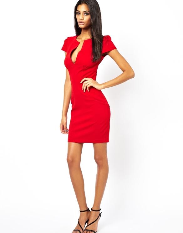 Hot Sale Fashion Design Summer Mini Pencil Bodycon Dress Wholesale New Design Short Sleeve Deep
