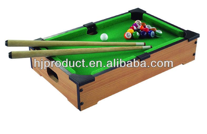 Wholesale Retail Folding Up Pool Tablesmall Size Billiard
