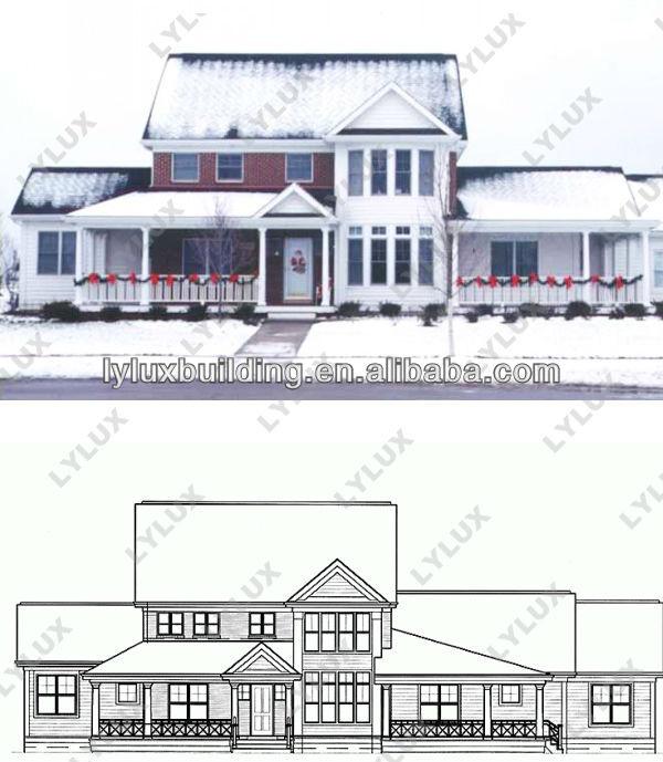 Cheap Prefab Kit House Building Prefabricated Eco Homes