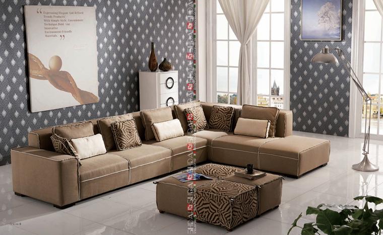 Teak wood sofa set designs 2013 new design sofa furniture sofa set designs modern l shape sofa - Latest furniture designs ...