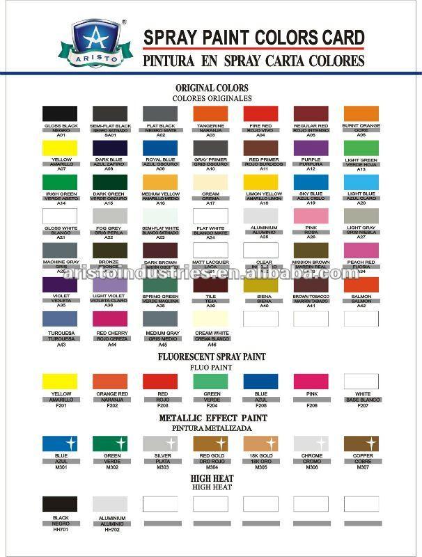 Rim Paint Colors