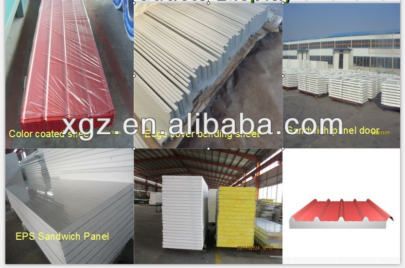 Prefabricated steel structure warehouse building kit