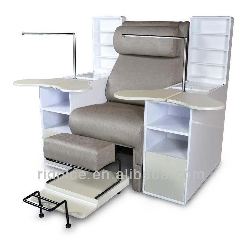 Comfortable spa pedicure nail sofa wholesale pedicure for Cheap nail desk