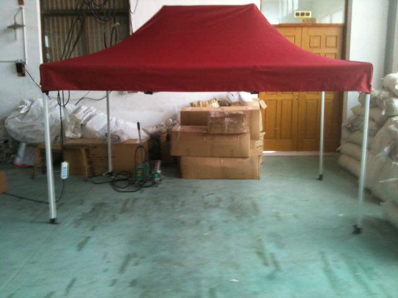 pop up tent folding instructions