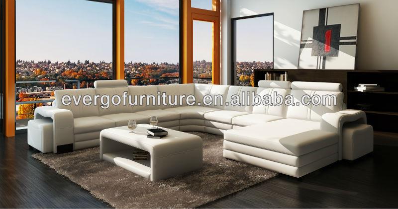 Modern Design Sectional Genuine Leather Sofa L Shape Sofa  : 583668274537 from www.alibaba.com size 800 x 421 jpeg 72kB