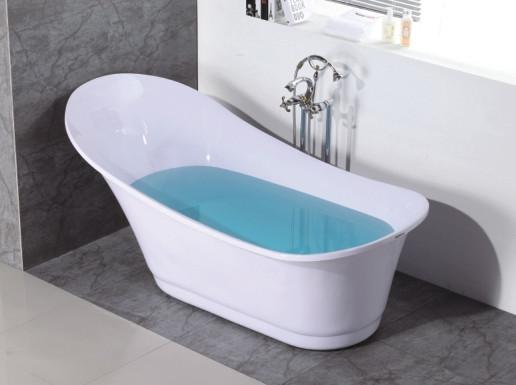 plastic portable acrylic bathtub easy clean for adults
