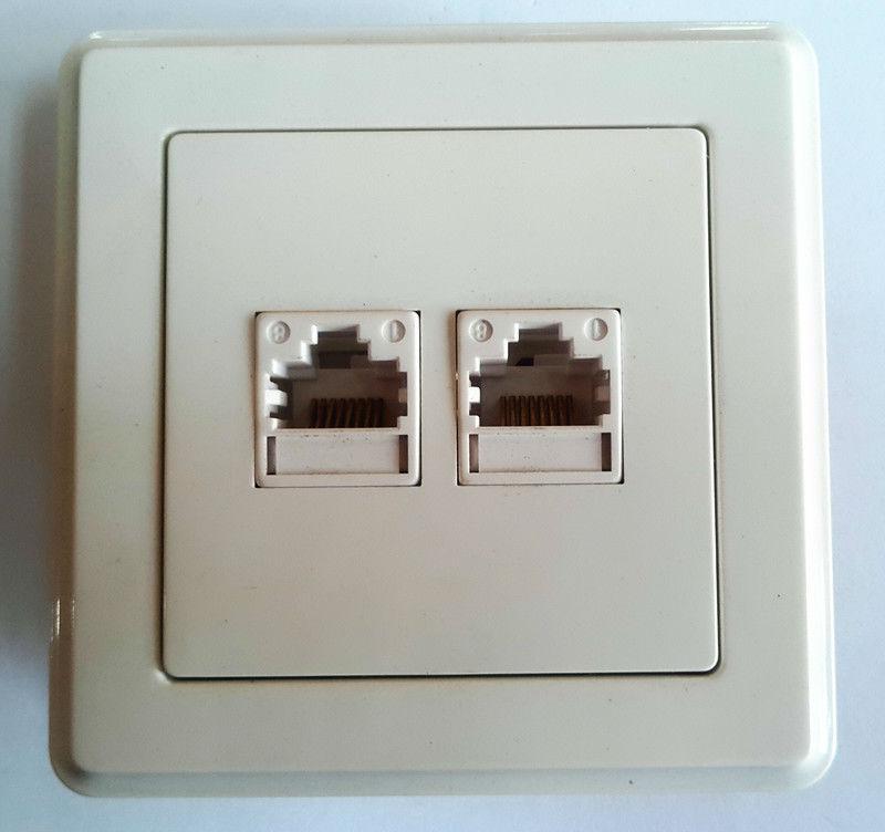 Double Internet Socket 216 Series Buy Internet Socket