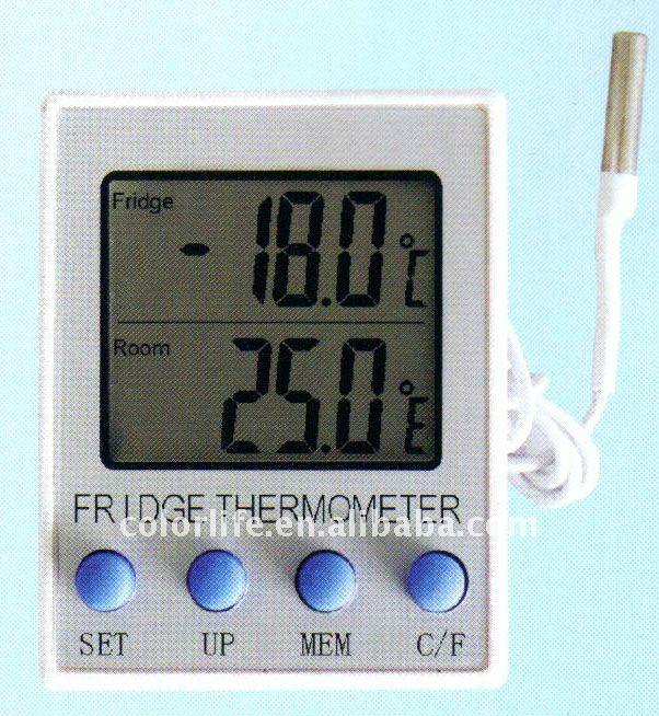 Lectronique num rique thermom tre r frig rateur for Thermometre interieur precis
