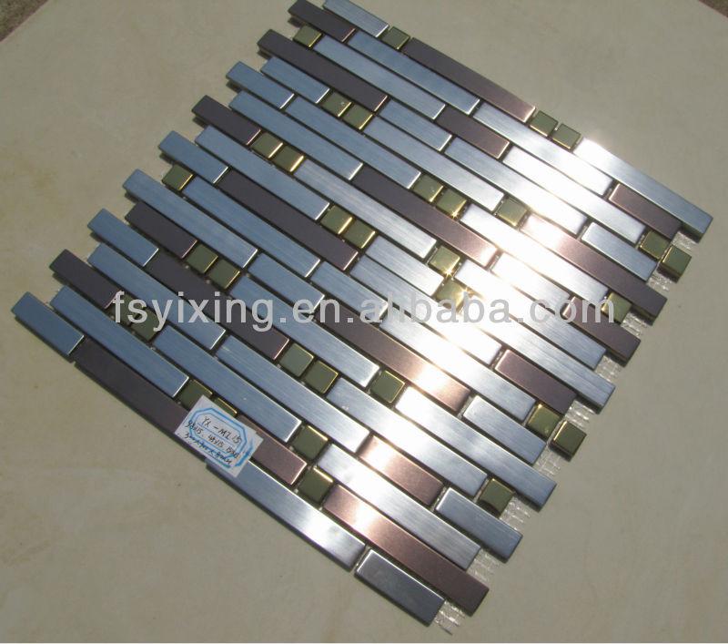 Tira de acero inoxidable barato ladrillo revestimientos de - Revestimientos para paredes de cocina ...