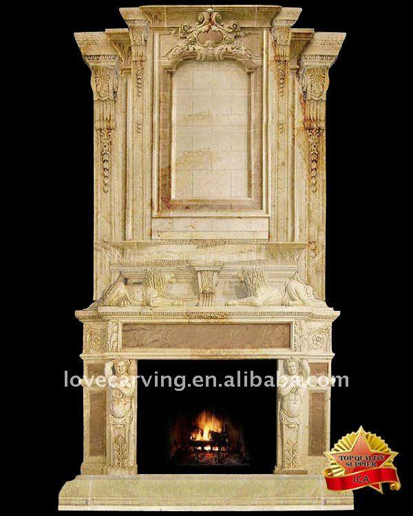 Engineered stone fireplace buy engineered stone for Engineered fireplace