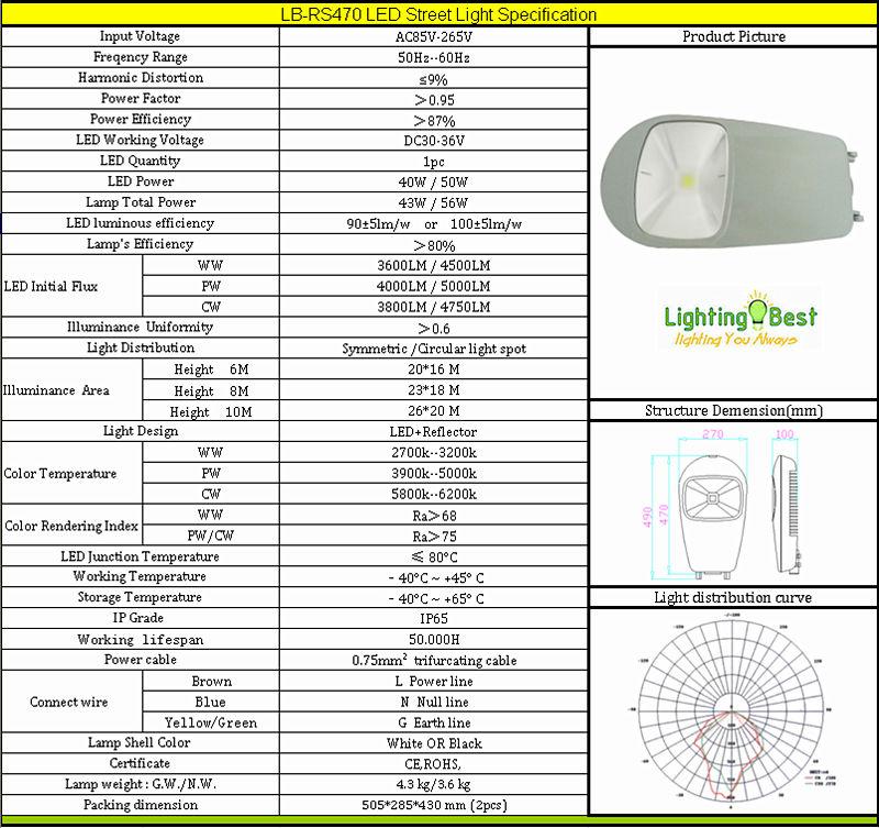 Solar Street Light Specification Pdf Specification Of