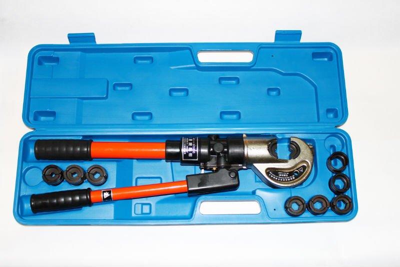 hydraulic cable crimper hydraulic cable crimping tools buy crimping tools hydraulic crimper. Black Bedroom Furniture Sets. Home Design Ideas