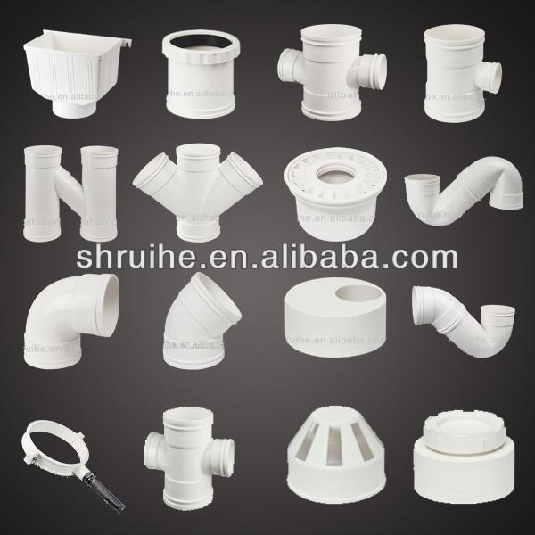 Plastic plumbing fittings buy plumbing fittings plastic - Tubos desague pvc ...