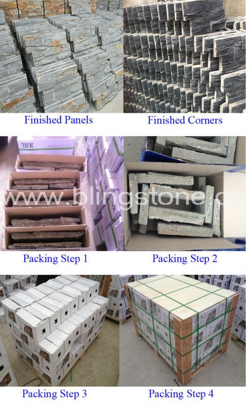 Rusty Slate Interior Decorative Wall Stone Panels Buy