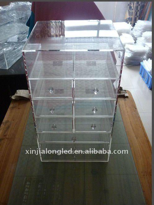 Transparent Acrylic Drawers Acrylic Drawer Organizers