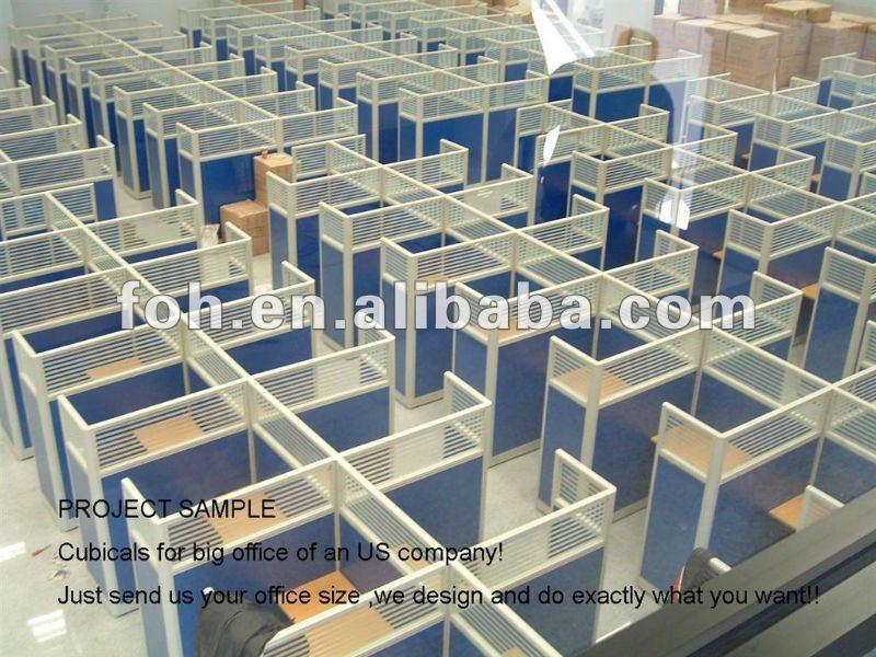 modern design white cubicle office workstation furniture for