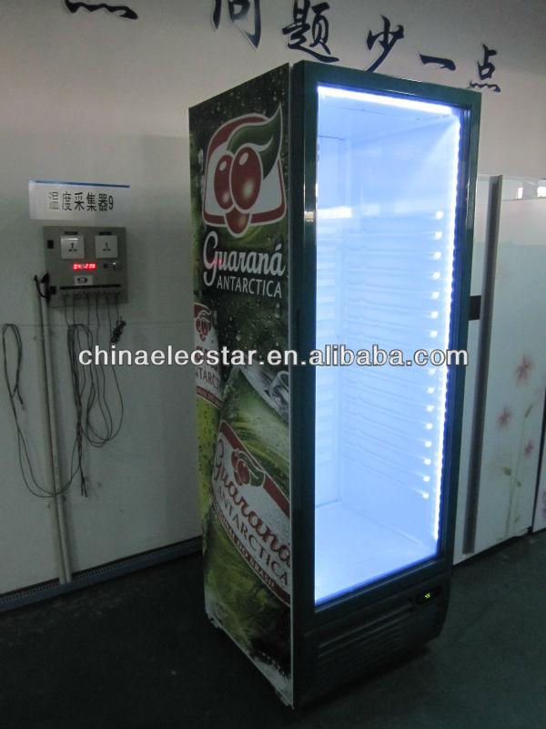 Upright beverage cooler display cooler upright freezer for 1 door display chiller