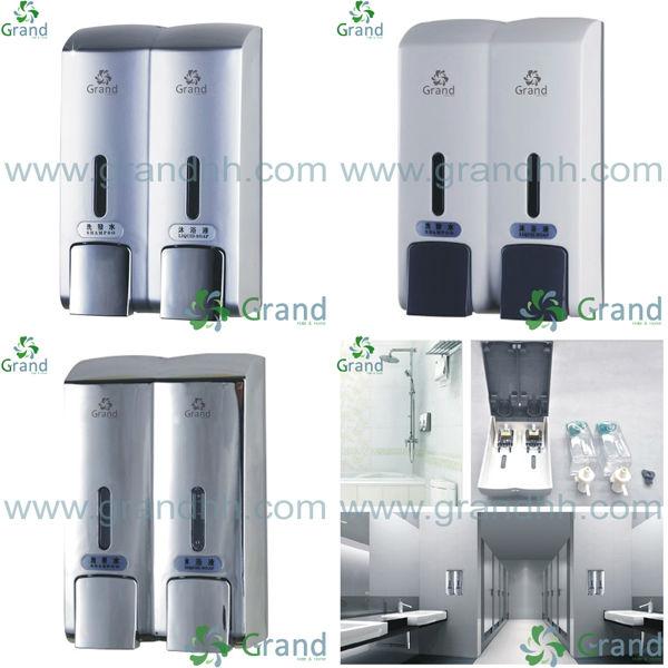 Hotel Bathroom Soap Dispenser 300ml Shampoo Bath Gel Body