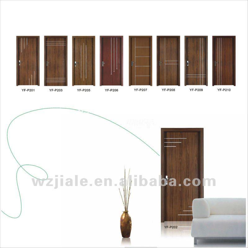 Solid Core Wooden Interior Flush Panel Door