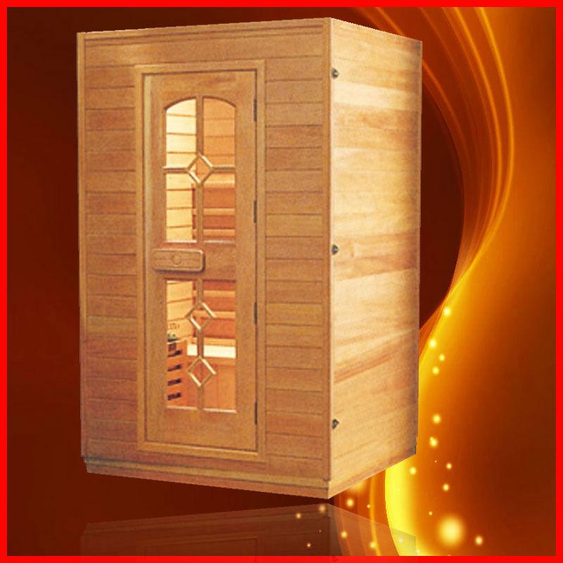 Two person sauna steam room sauna room with sauna heater - Calentador para sauna ...