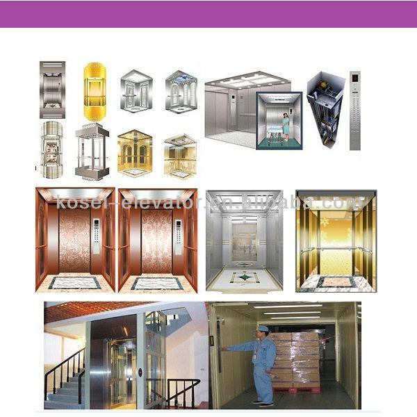 Good Etching Design elevator for 450kg Home Passenger Elevator Lift ...
