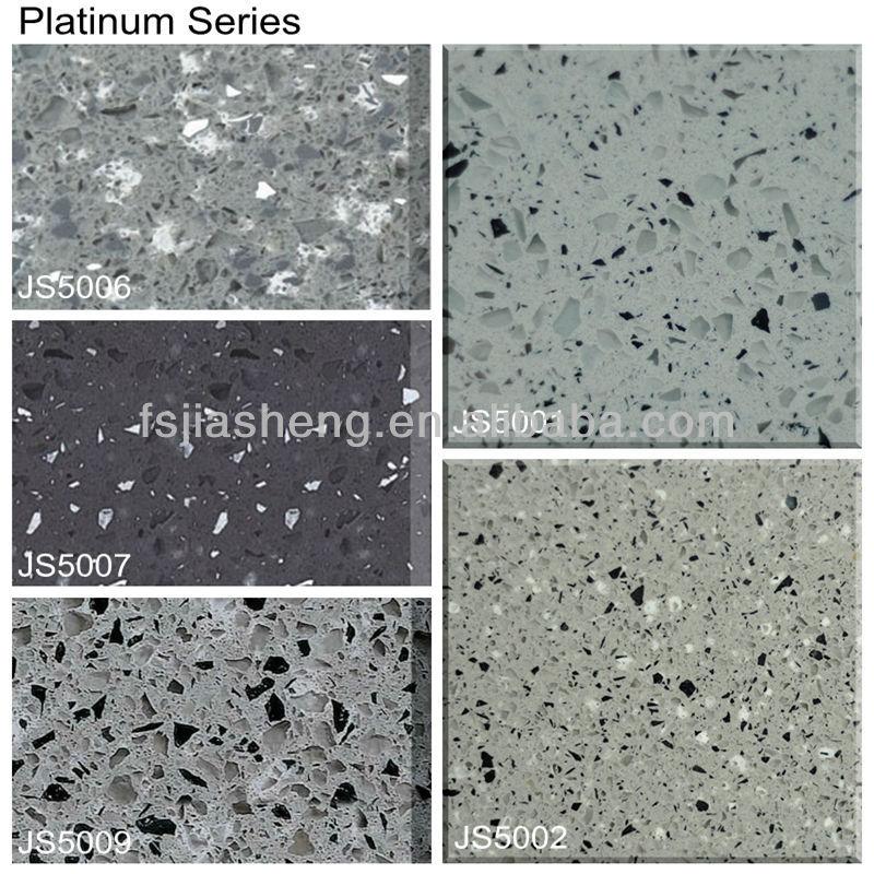 Blue Sparkle Mirror Artificial Quartz Stone Countertop Discount