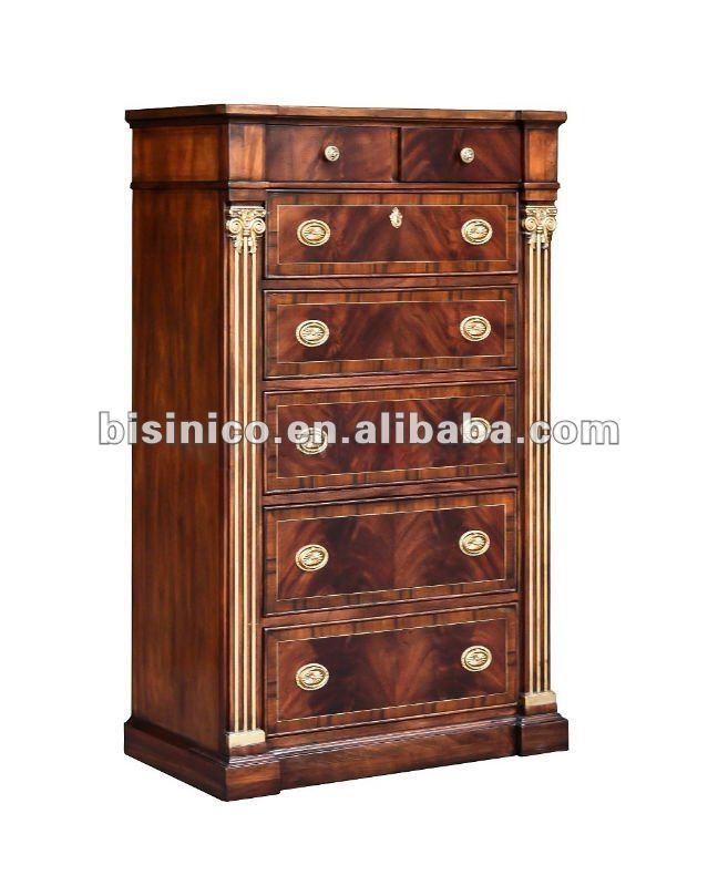 Antique Solid Wood Bedroom Wardrobe Moq 1pc B400166 View