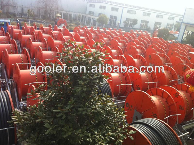 2013 Hot Sale Travelling Irrigator Hose Reel Irrigation