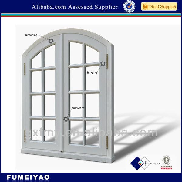 Arch Glass Doors Interior