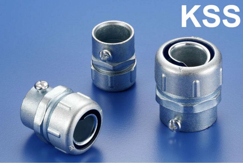 Kss metal flexible conduit adaptor emt pipe