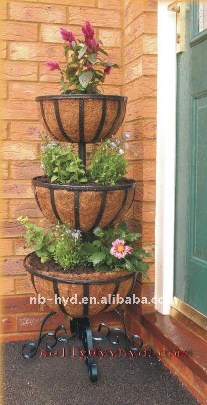 Three Tier Flower Fountain Buy Garden Decoration