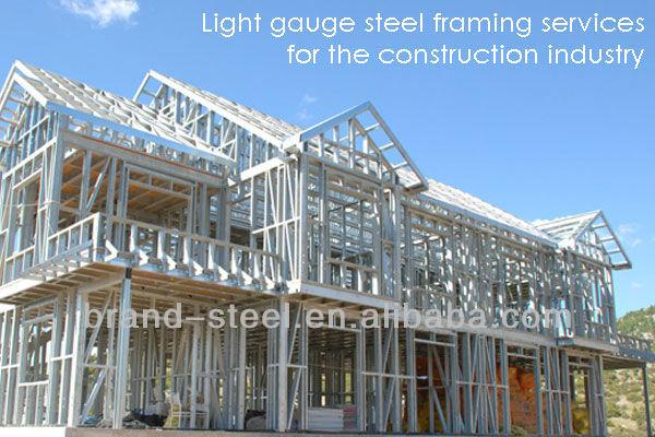 China Hot Sale Luxury Modern Steel Frame House