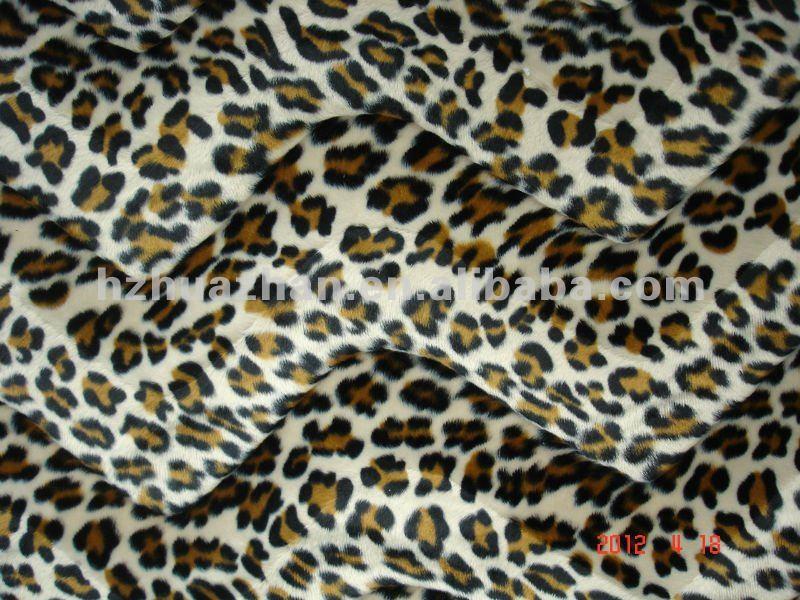 100 polyester animal print sofa cover upholstery fabric